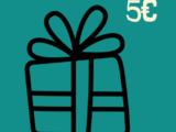 Bon Cadeau 5€