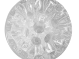 Pique-fleurs en verre