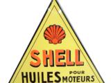 Plaque émaillée SHELL 1930