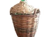 Dame-Jeanne 10 litres avec son panier