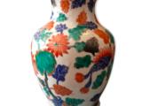 Vase asiatique fleuri