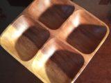 Coupelle apéritif en bois