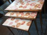 Petites tables Gigognes x3