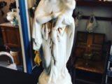Vierge à l'enfant porcelaine biscuit