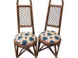2 chaises 1960