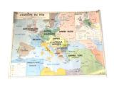 Carte l'Europe en 1914