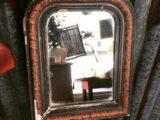 Miroir brun