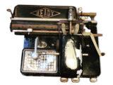 Machine à écrire 1920